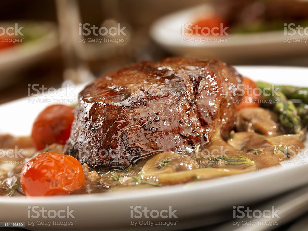 Beef Tenderloin Steak royalty-free stock photo