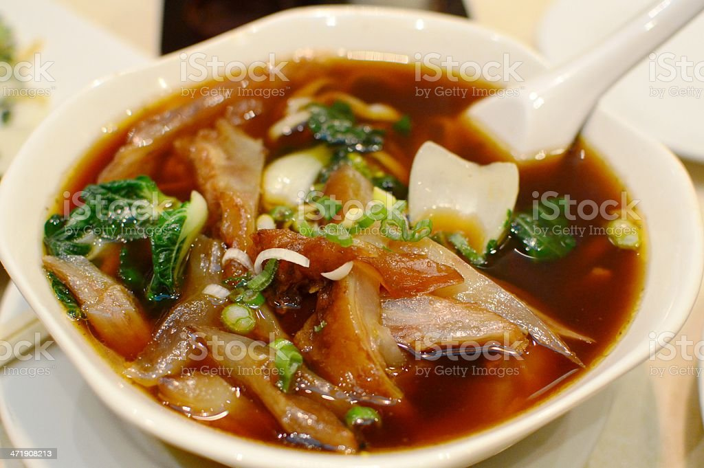 Beef Tendon noodles royalty-free stock photo