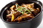 Beef with Mushroom Bowl