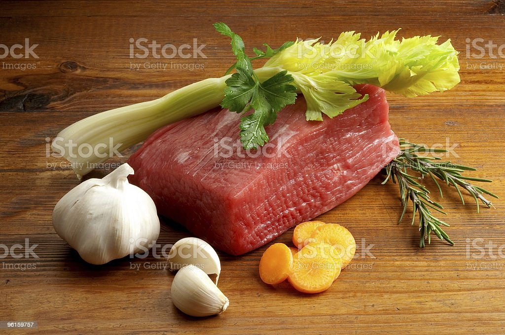 beef with vegetables royalty-free stock photo