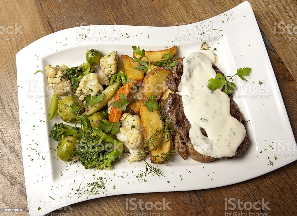 beefsteak stock photo