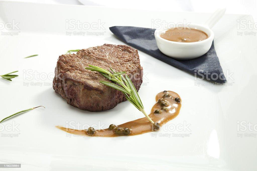 Beefsteak Tenderloin royalty-free stock photo