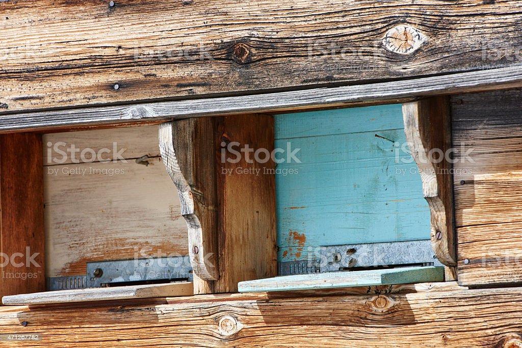Beehive Gates stock photo