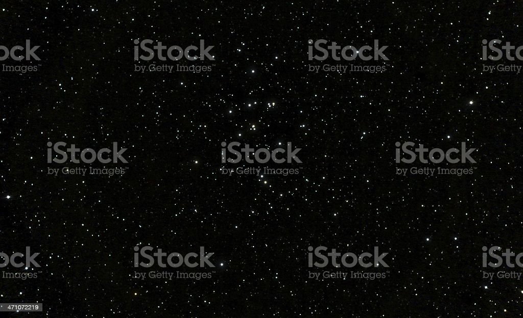 Beehive Star Cluster royalty-free stock photo