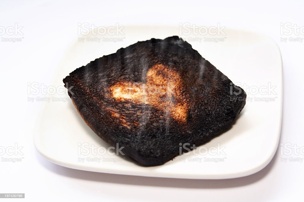 Been Burnt Before stock photo
