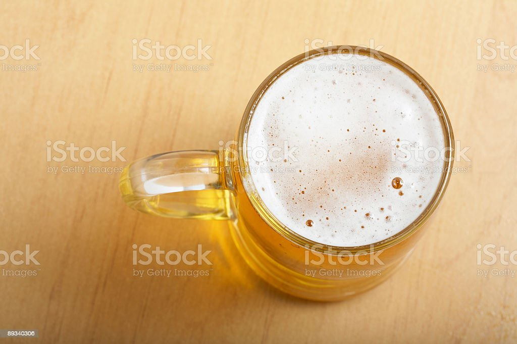 beer above royalty-free stock photo