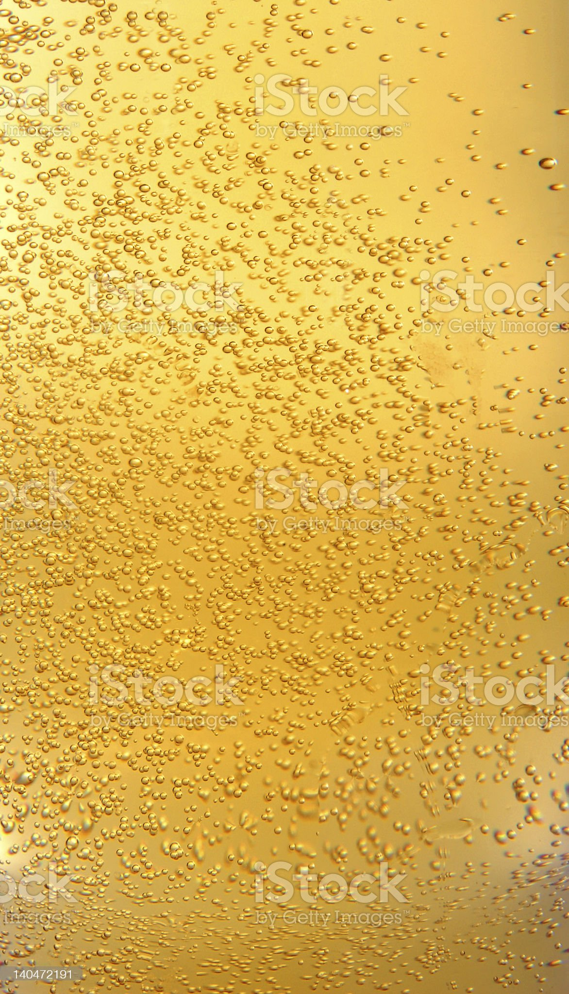Beer and bubbles royalty-free stock photo