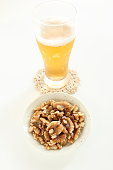 beer and walnut