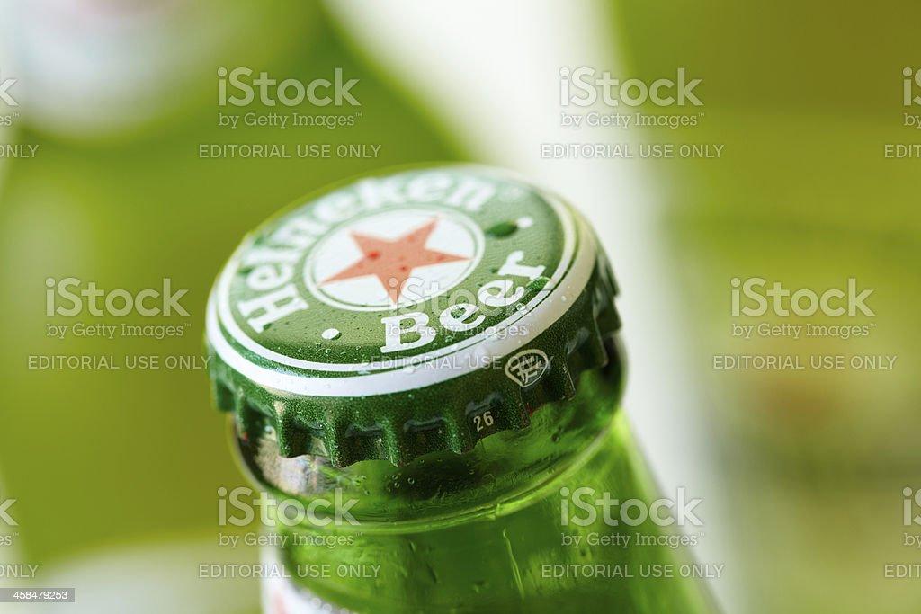 Beer bottle cap stock photo