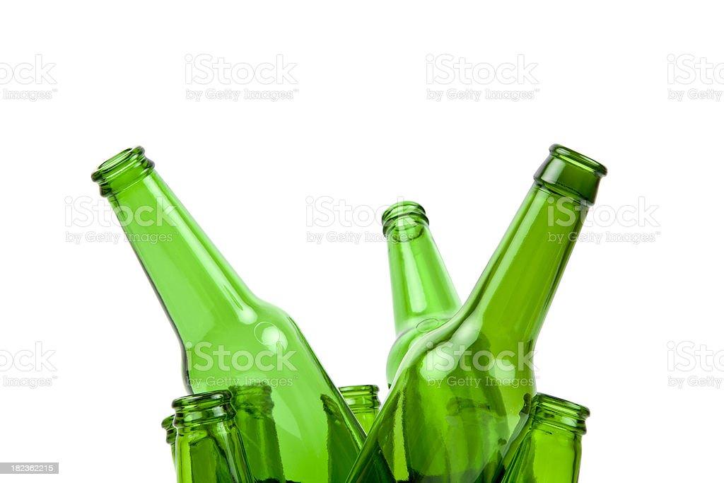 Beer Bottle Series royalty-free stock photo