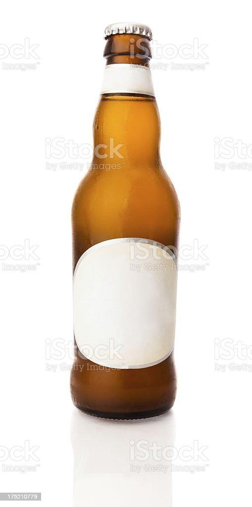 Beer bottle XXL stock photo