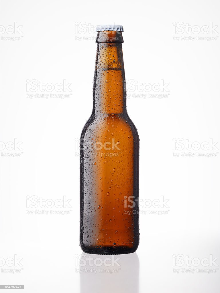 Beer Bottle XXXL royalty-free stock photo