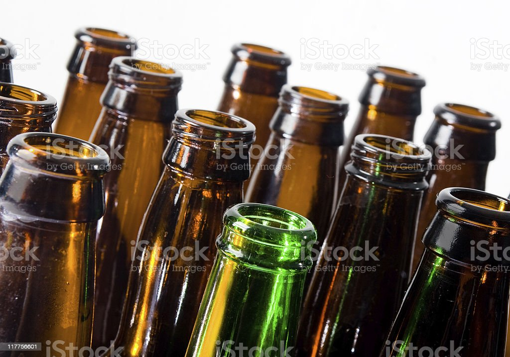 Beer Bottles royalty-free stock photo