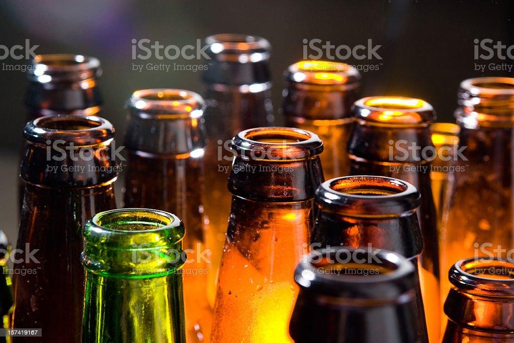 Beer Bottles stock photo
