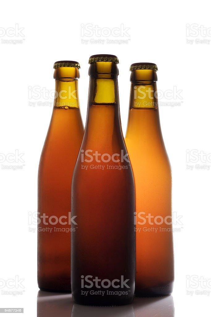 Beer Bottles royalty-free stock photo