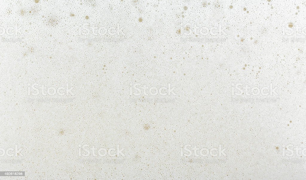 beer bubble. stock photo
