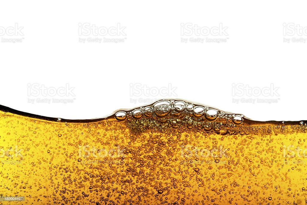 Beer Bubble with dewy stock photo