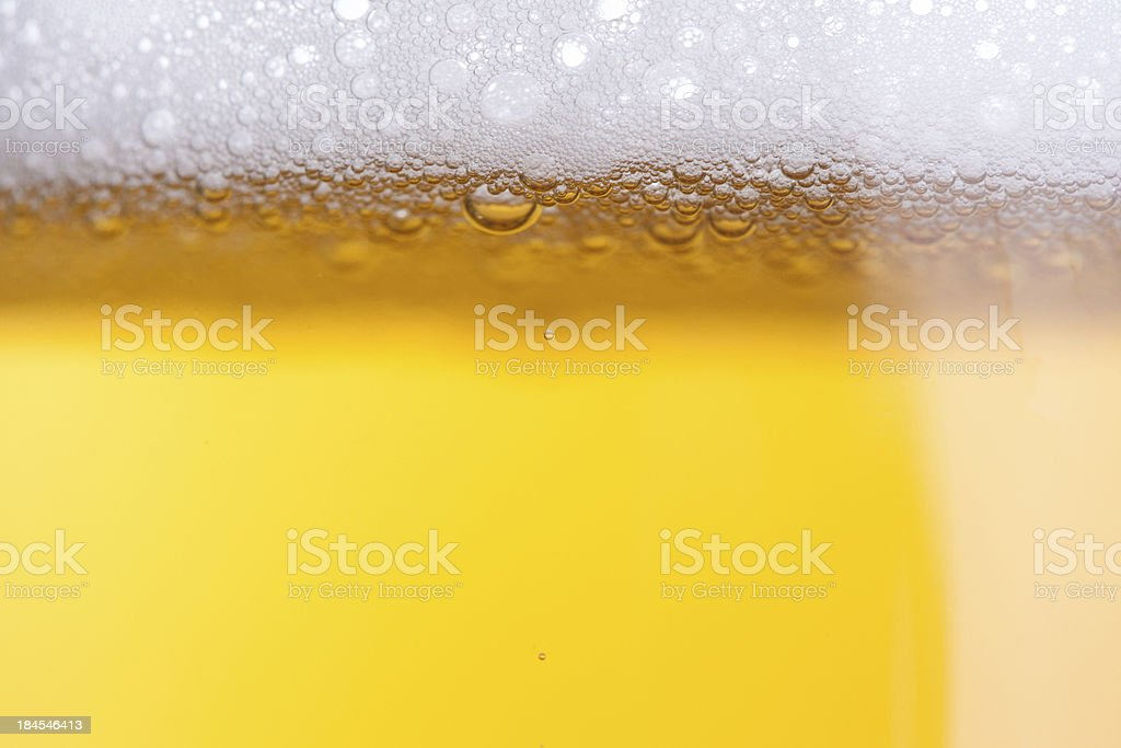 beer bubbles royalty-free stock photo