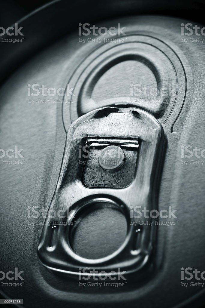 Beer can opener close up royalty-free stock photo