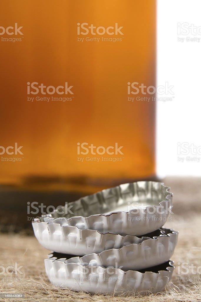 Beer Cap royalty-free stock photo