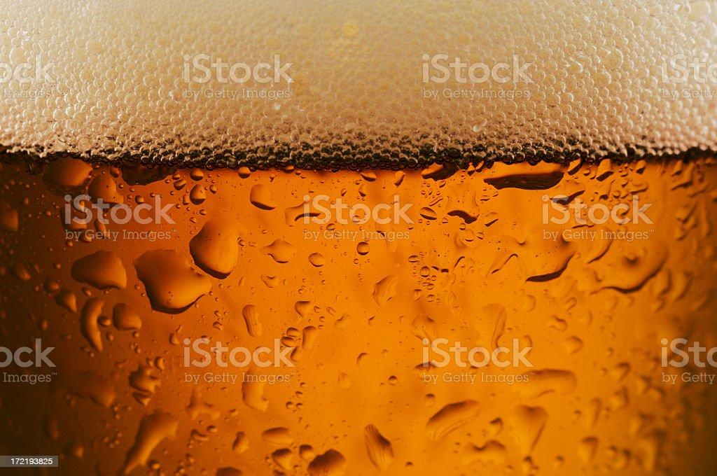 Beer Close Up royalty-free stock photo
