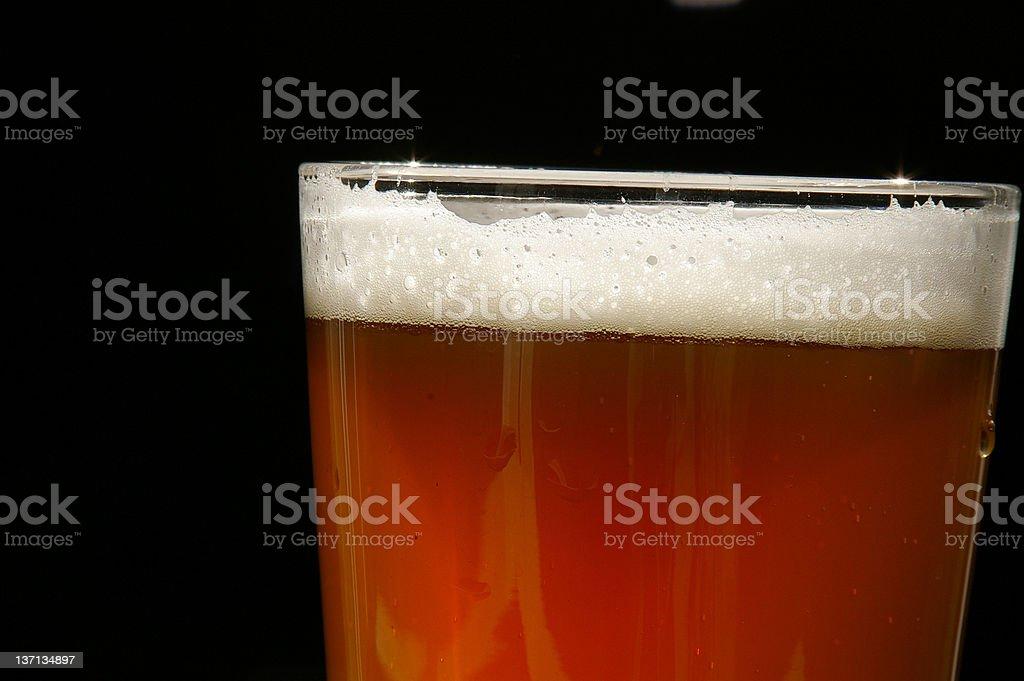 Beer closeup royalty-free stock photo