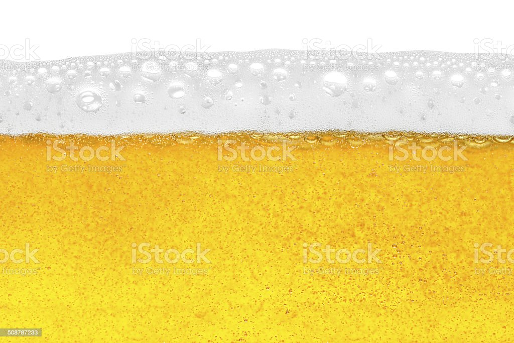 beer close-up stock photo