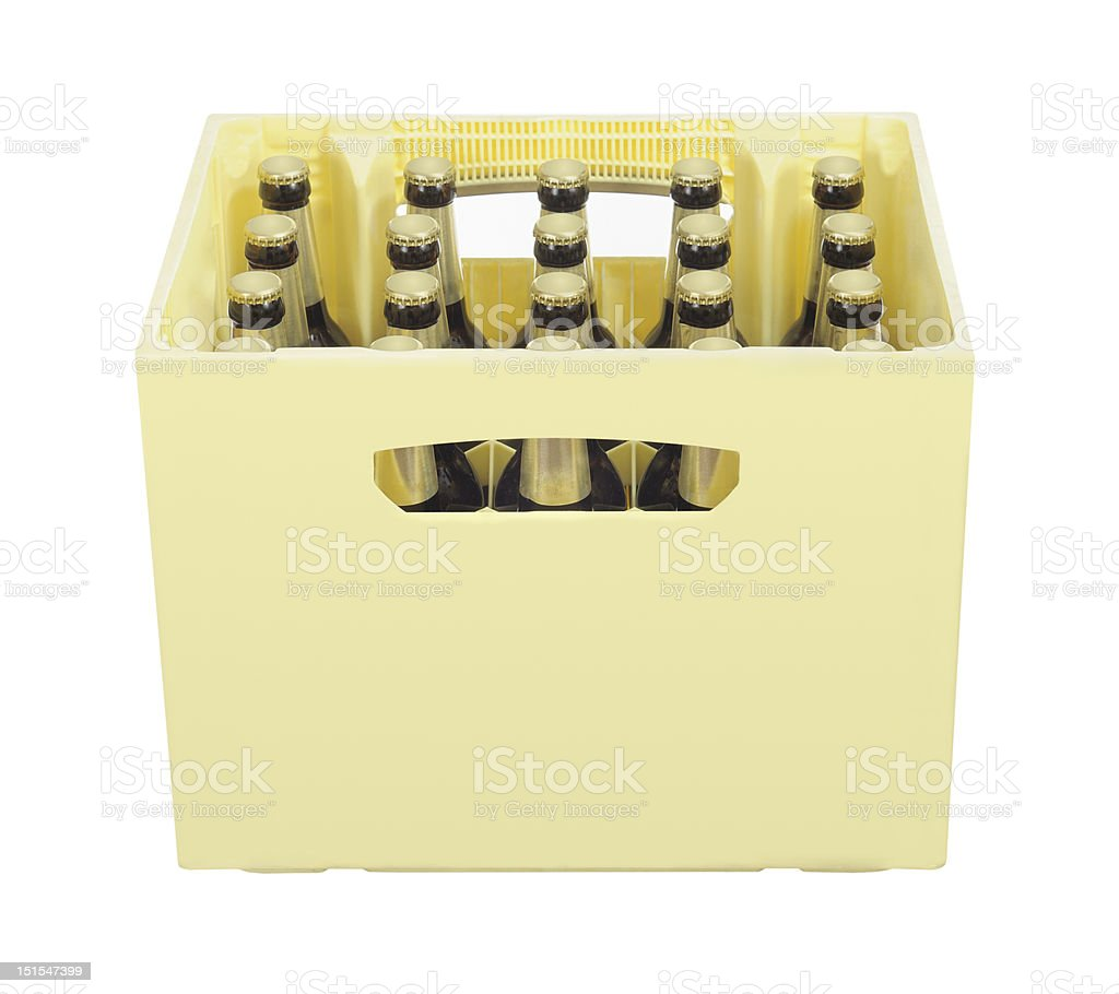 beer crate royalty-free stock photo