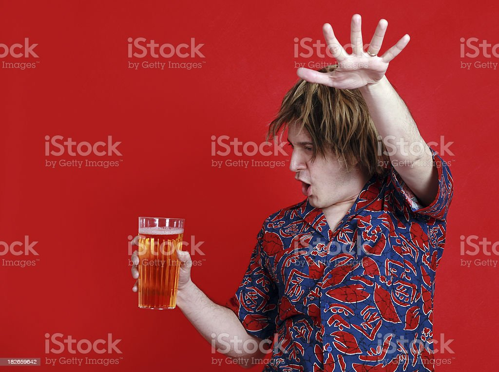 Beer Dance royalty-free stock photo
