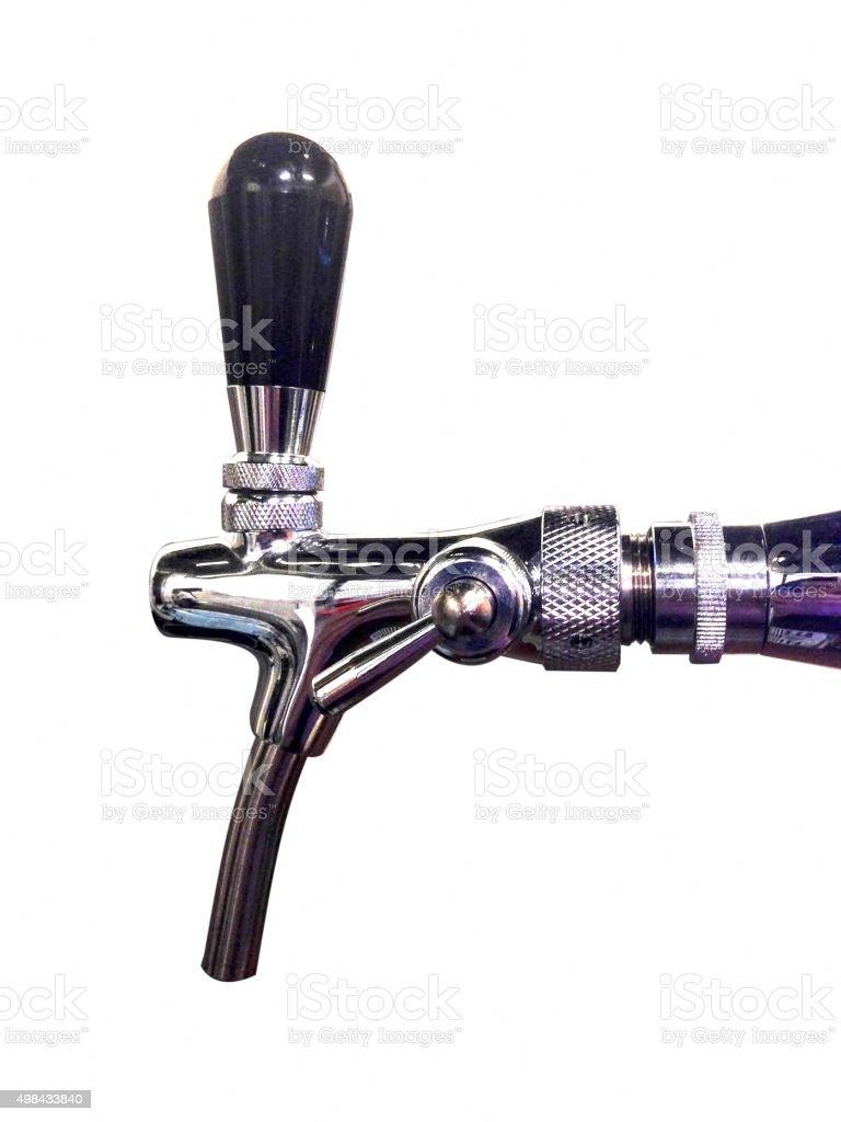 Beer dispenser stock photo