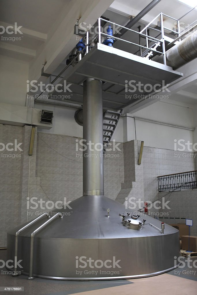 Beer factory royalty-free stock photo