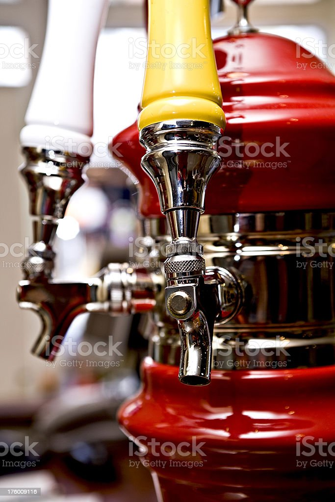 Beer for two royalty-free stock photo