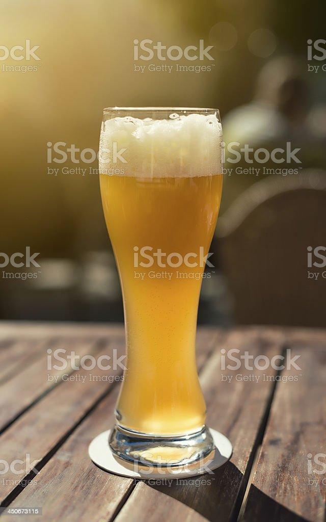 beer garden royalty-free stock photo