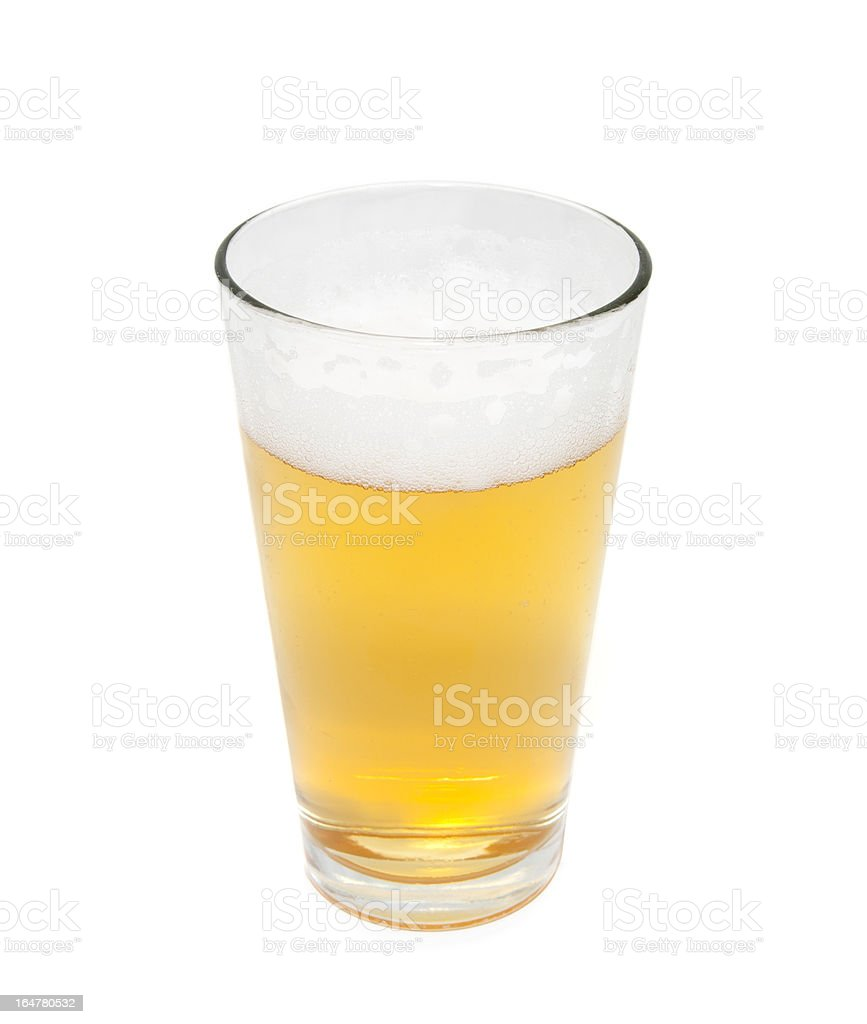 Beer Glass royalty-free stock photo