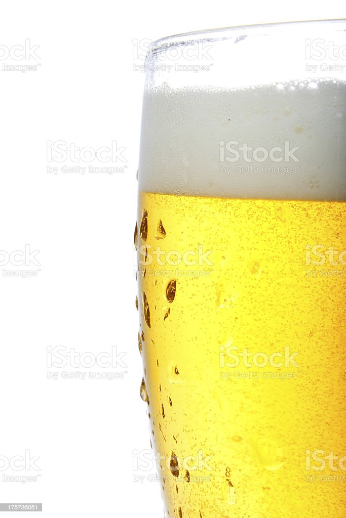 Beer - isolated royalty-free stock photo