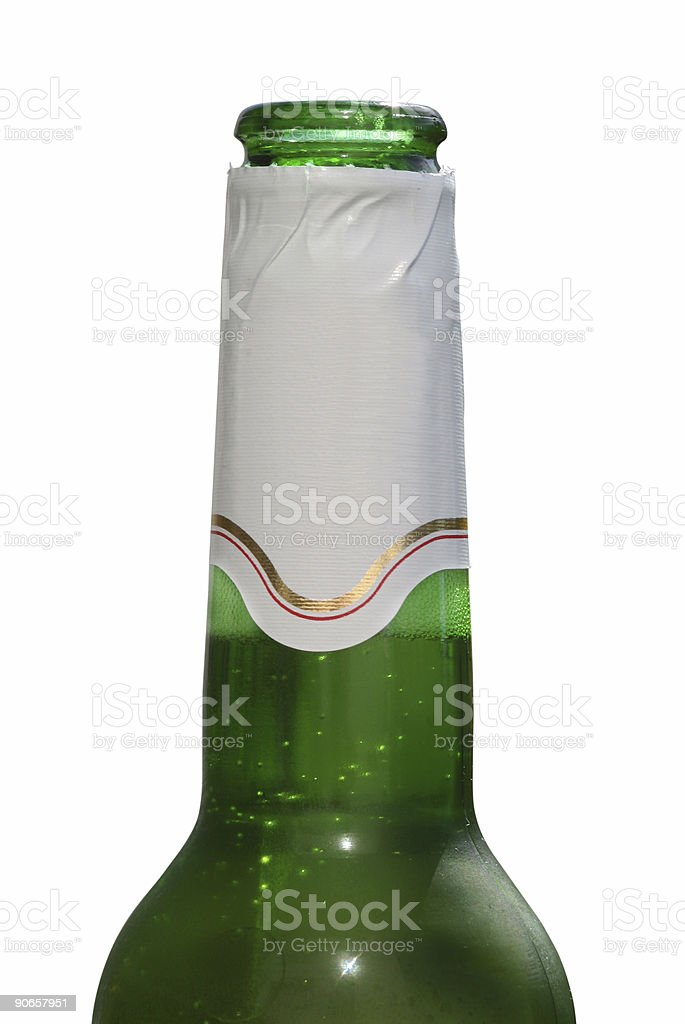 Beer isolated stock photo