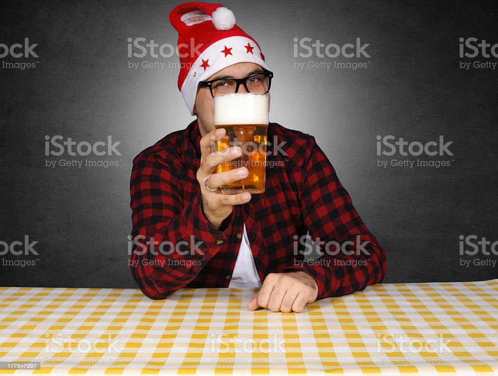 Beer present royalty-free stock photo