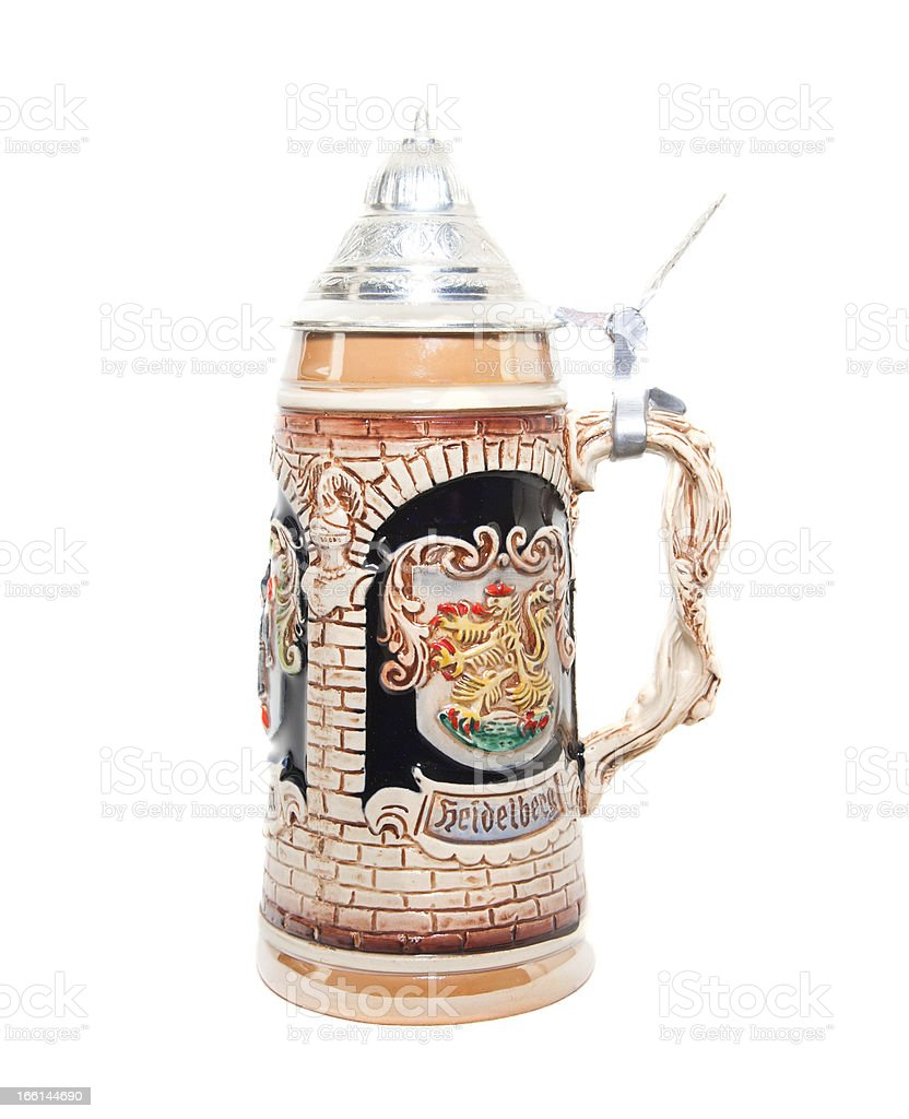 Beer Stein royalty-free stock photo
