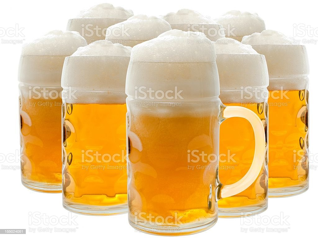 Beer Stein's royalty-free stock photo