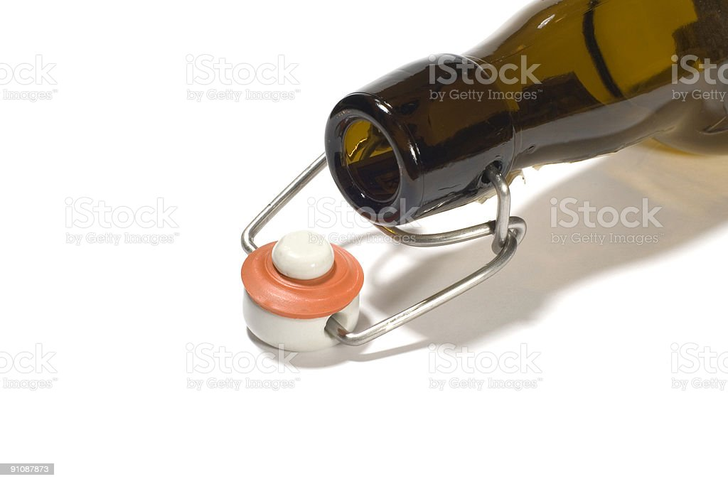Beer stopper royalty-free stock photo