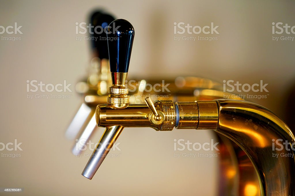 Beer tap royalty-free stock photo