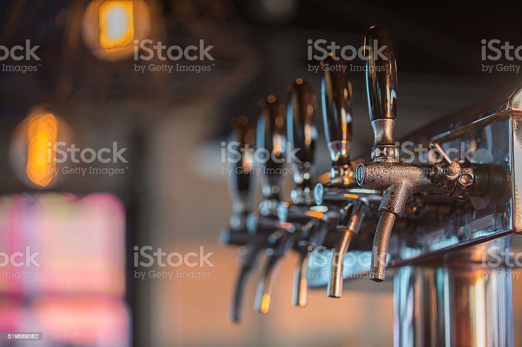 Beer Tap stock photo