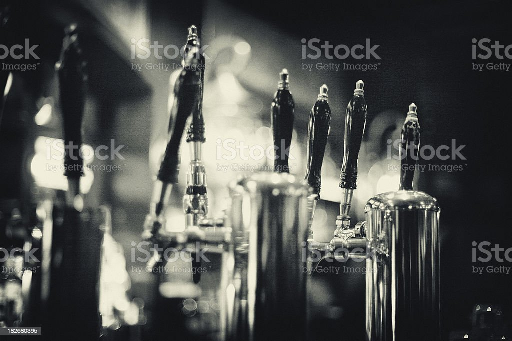 Beer Taps royalty-free stock photo