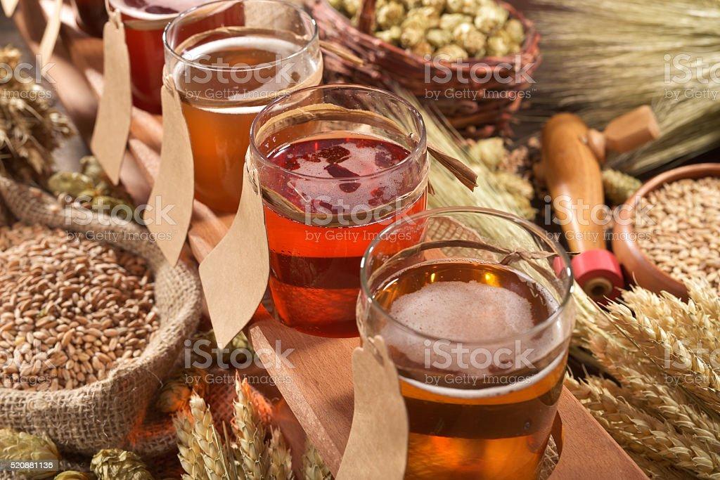beer testing stock photo