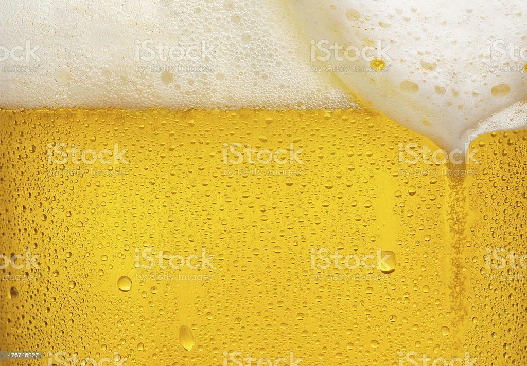 Beer texture stock photo