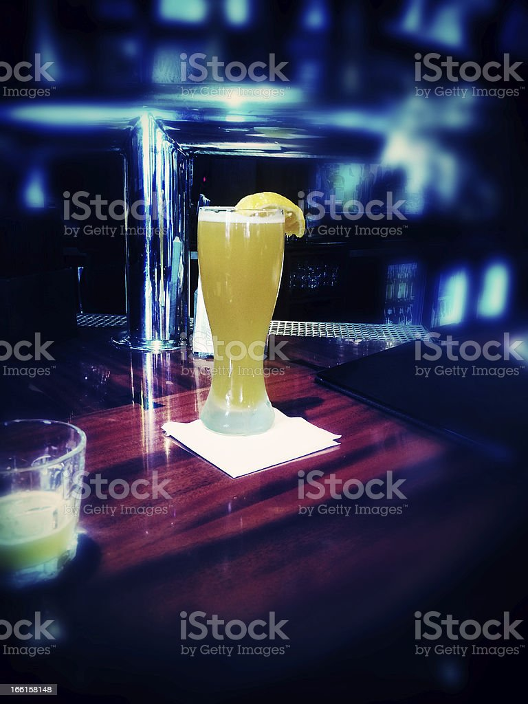 Beer Tunnel Vision stock photo