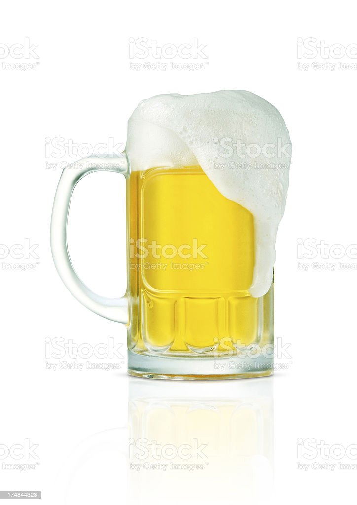 Beer+Clipping Path (Click for more) royalty-free stock photo