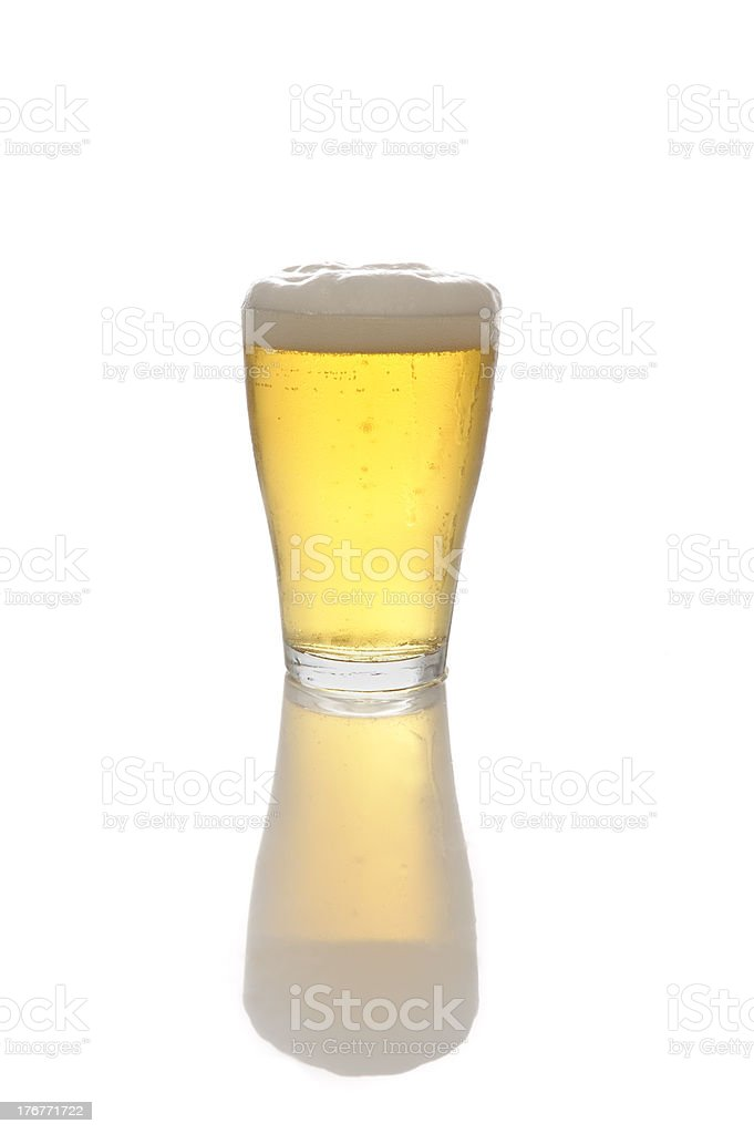 Beer-Glass royalty-free stock photo