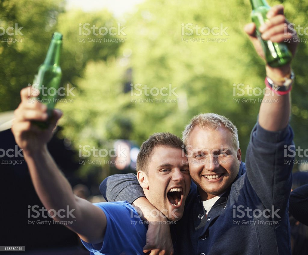 Beers and bros royalty-free stock photo