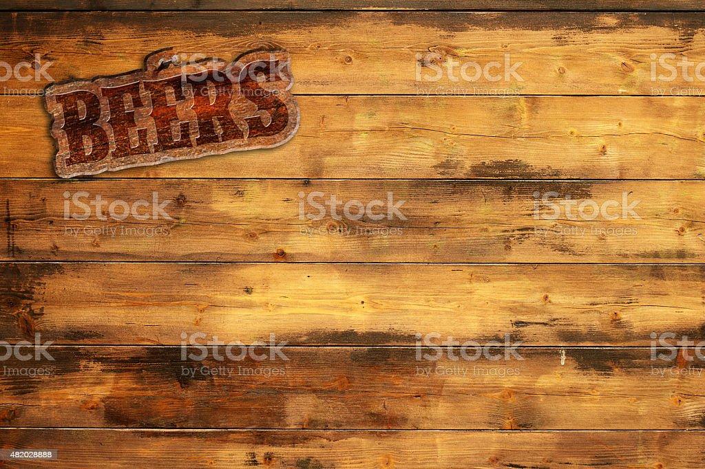 beers menu stock photo